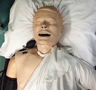 NREMT Psychomotor Exam Manikin Top View