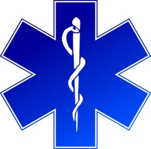 EMT Training Star Of Life Fade
