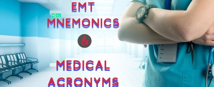 EMT MNEMONICS MEDICAL ACRONYMS Title