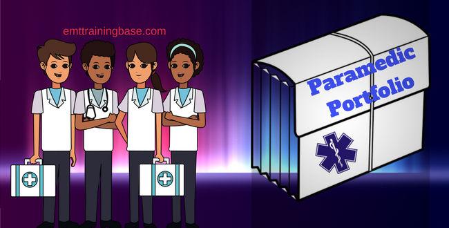 Paramedic Portfolio Graphic