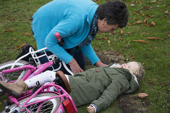 Sample history events Child bike accident