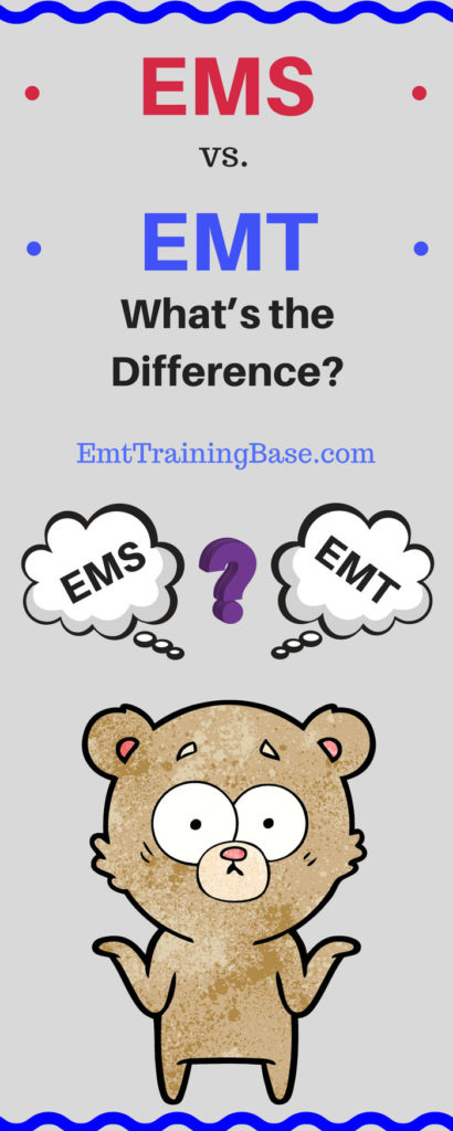 EMS vs EMT Infographic
