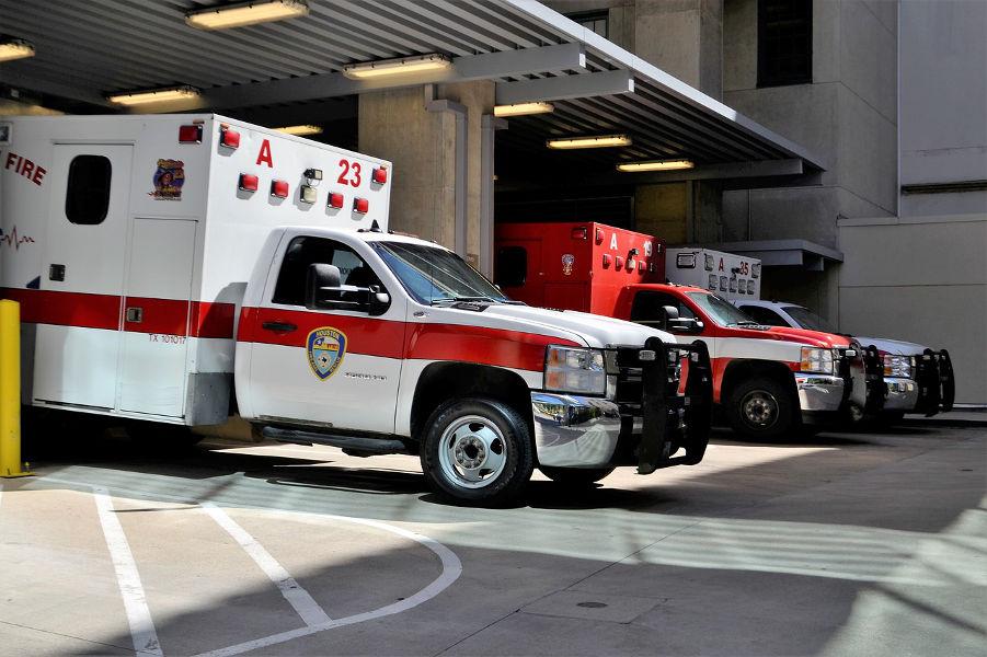 Houston Ambulance Bay at ER