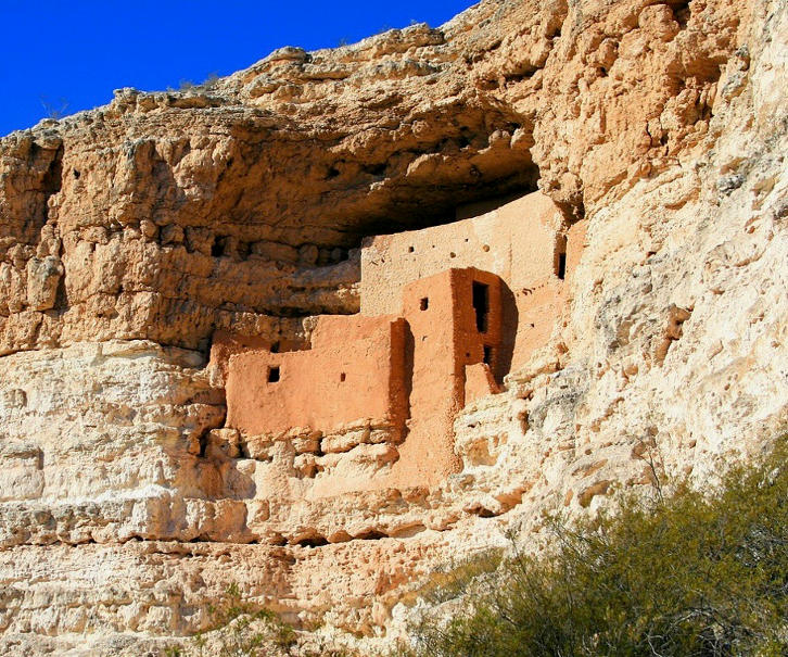 Montezuma Castle Camp Verde Arizona