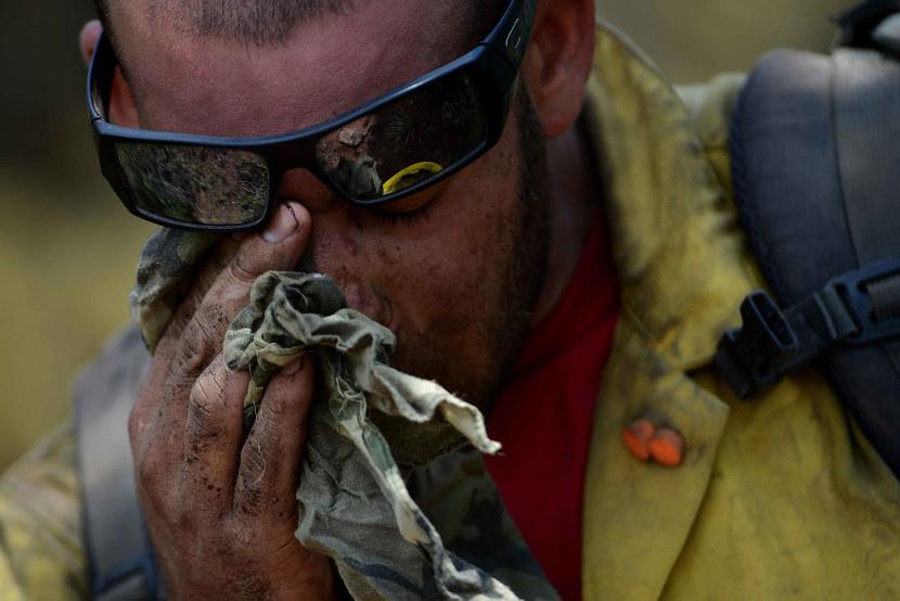 firefighter heat related illness