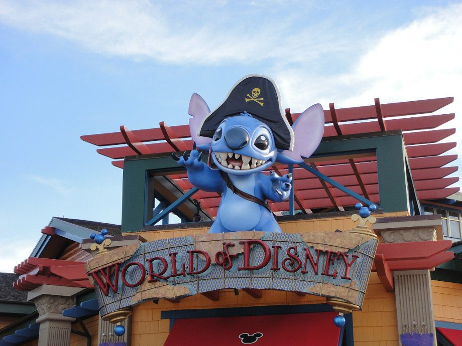 world of disney stitch