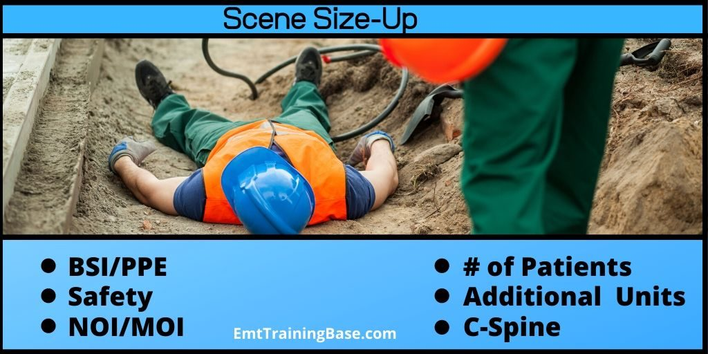 EMT Scene Size-Up Steps